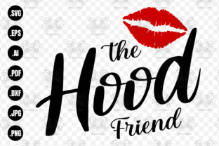Print on Demand: The Hood Friend Svg, Friends Svg, Girl Graphic Crafts By 99SiamVector