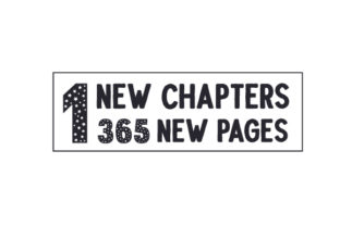 1 New Chapters, 365 New Pages New Year's Craft Cut File By Creative Fabrica Crafts