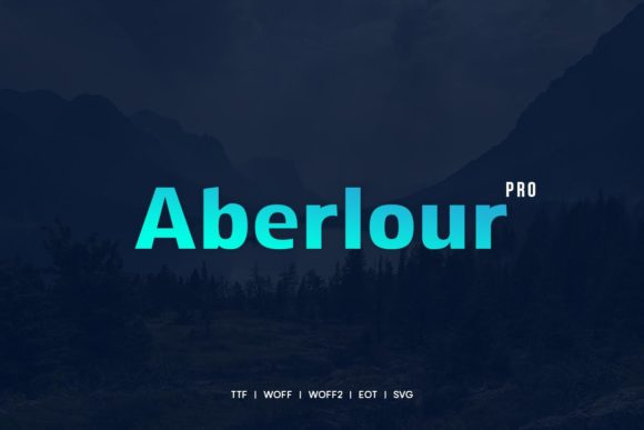 Print on Demand: Aberlour Sans Serif Font By Webhance