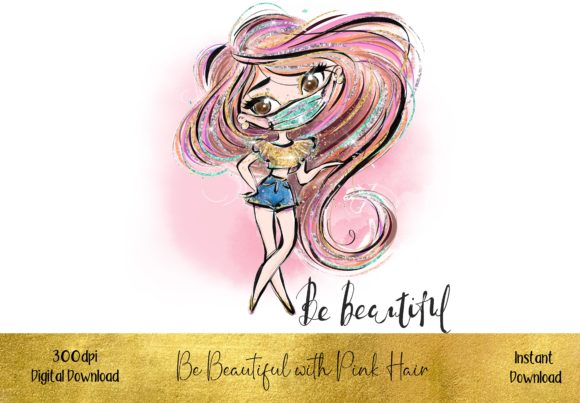 Be Beautiful - Wearing a Mask Graphic Illustrations By STBB