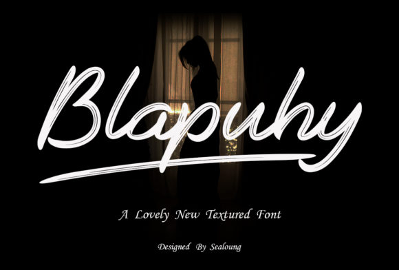 Print on Demand: Blapuhy Script & Handwritten Font By Sealoung