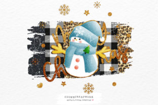 Print on Demand: Christmas Snowman Sublimation Designs Graphic Crafts By Chonnieartwork