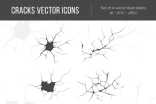 Cracks Illustrations. Graphic Illustrations By Cmeree