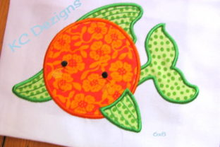 Cute Fish 01 Fish & Shells Embroidery Design By karen50