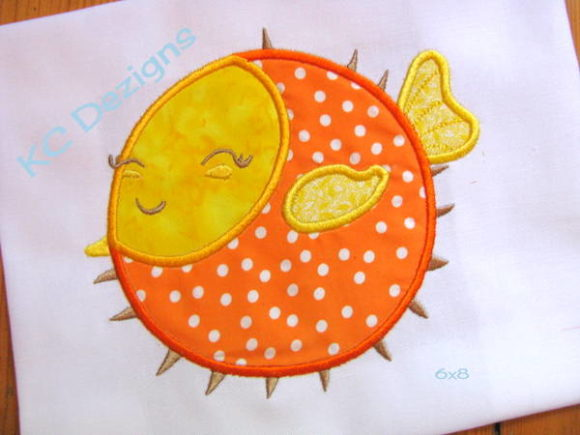 Cute Fish 04 Fish & Shells Embroidery Design By karen50