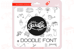 Print on Demand: Garden Dingbats Font By WADLEN