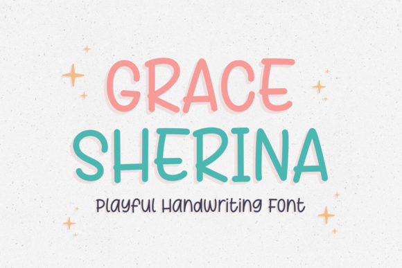 Print on Demand: Grace Sherina Display Font By Kotak Kuning Studio