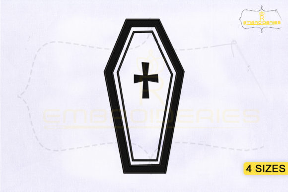 Halloween RIP Gravestone Halloween Embroidery Design By RoyalEmbroideries