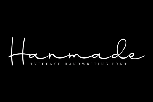 Print on Demand: Hanmade Script & Handwritten Font By Micro77 type