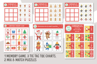 Merry Christmas Games and Activities Graphic Teaching Materials By lexiclaus 10