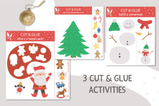 Merry Christmas Games and Activities Graphic Teaching Materials By lexiclaus 5