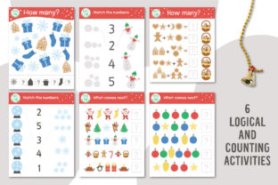 Merry Christmas Games and Activities Graphic Teaching Materials By lexiclaus 7