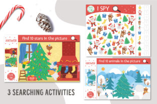 Merry Christmas Games and Activities Graphic Teaching Materials By lexiclaus 8