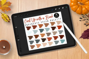 Print on Demand: Procreate Palette - Curl Up with a Book Graphic Brushes By Digital to Art