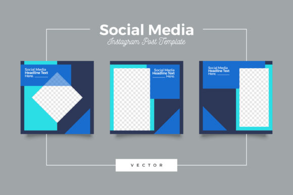 Print on Demand: Social Media Instragram Post Template Graphic Graphic Templates By Novendi88
