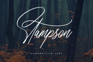 Print on Demand: Stampson Script & Handwritten Font By Maulana Creative
