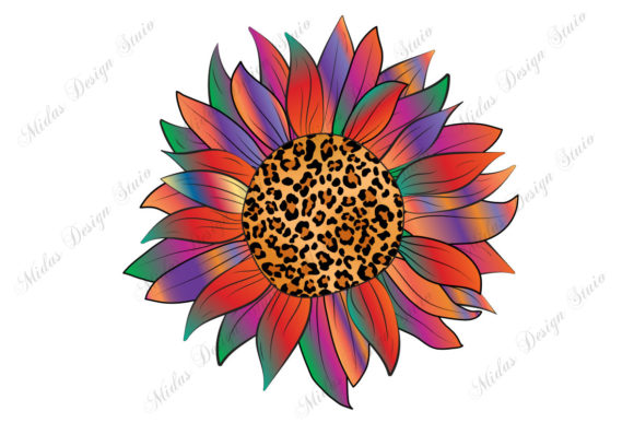 Download Sublimation Colorful Sunflower Graphic By Midasstudio Creative Fabrica