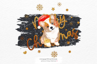 Print on Demand: Sublimation Corgi Dog, Christmas Png Graphic Crafts By Chonnieartwork