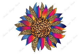 Sublimation - Leopard Sunflower Graphic Crafts By MidasStudio