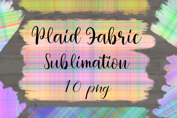 Sublimation Plaid Fabric Background Graphic Backgrounds By PinkPearly