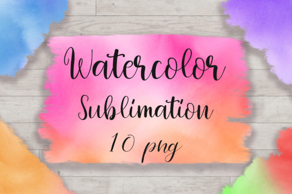 Sublimation Watercolor Background Graphic Backgrounds By PinkPearly