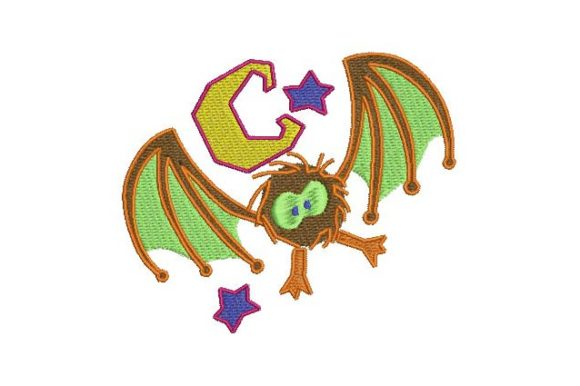 Vampi Halloween Embroidery Design By BabyNucci Embroidery Designs