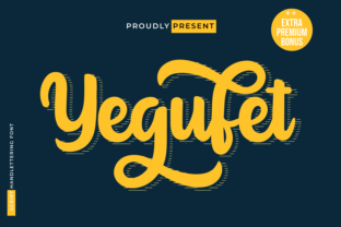 Print on Demand: Yegufet Script & Handwritten Font By twinletter