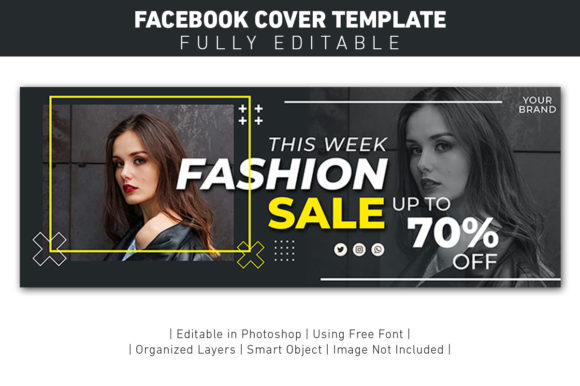 Banner Facebook Cover Fashion Sale Graphic Graphic Templates By ant project template