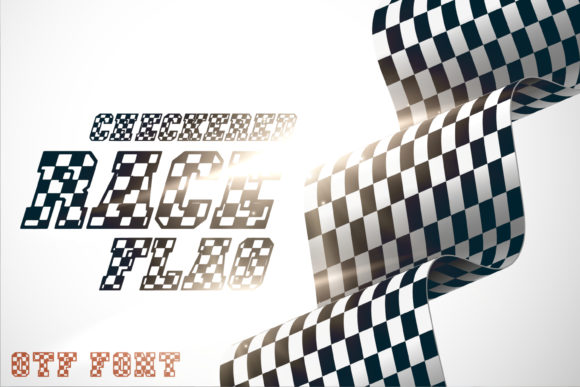 Checkered Race Font