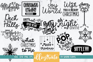 Print on Demand: Christmas Bundle Graphic Crafts By illuztrate