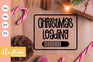 Print on Demand: Christmas Loading Graphic Crafts By illuztrate
