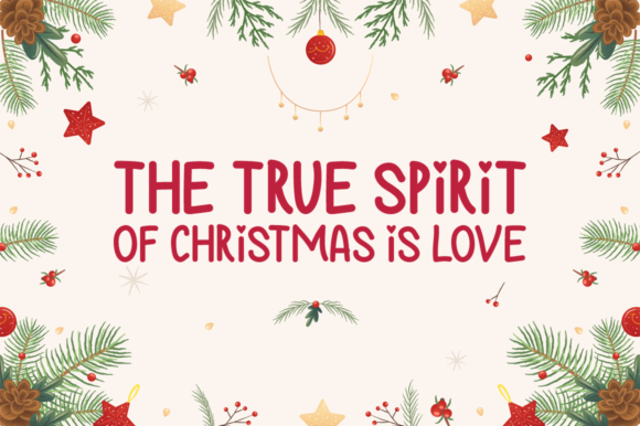 Christmas Love Font Download