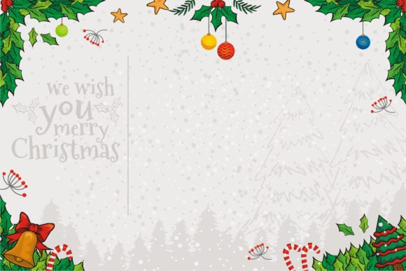 Christmas Background for Design Graphic Illustrations By onoborgol