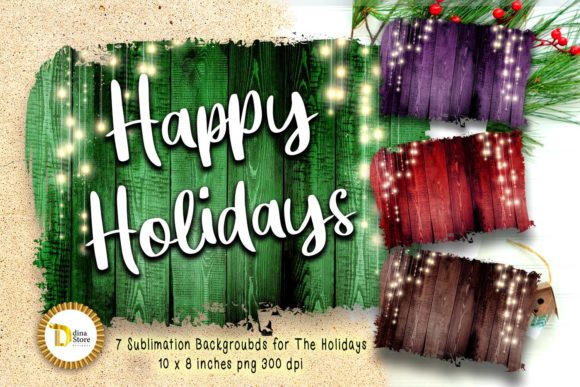 Christmas & the Holidays Sublimation Graphic