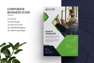 Corporate Flyer Template Graphic Print Templates By Pixelpick