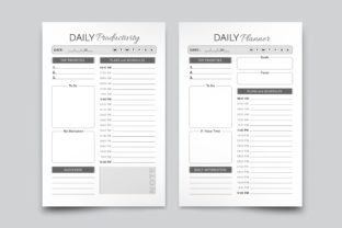 Daily Productivity Planner - 3