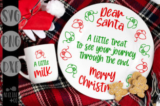 Dear Santa, a Little Treat, Christmas Graphic Crafts By adelinenco