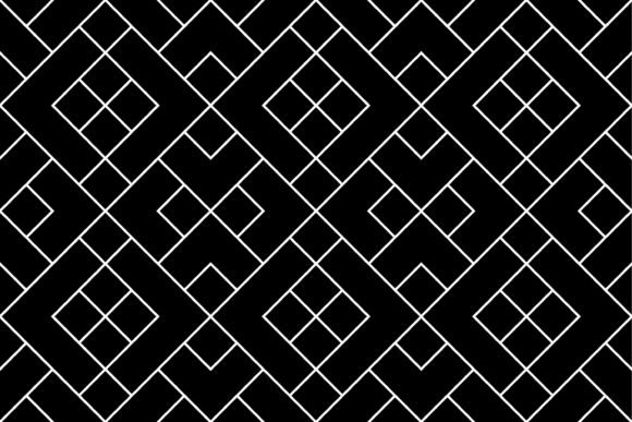 Diagonal Random Tile Graphic Patterns By asesidea