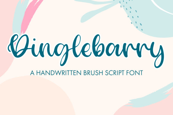 Print on Demand: Dinglebarry Script & Handwritten Font By freelingdesignhouse