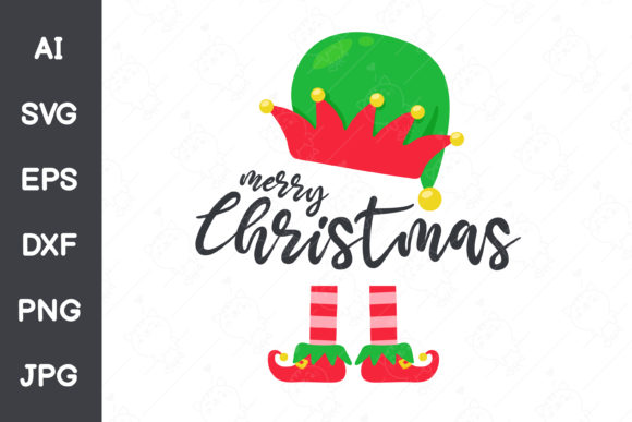 Elf Costume for Christmas Graphic Illustrations By CRStocker