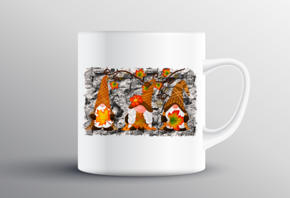 Fall Gnomes Thankful Design Sublimation Graphic Design