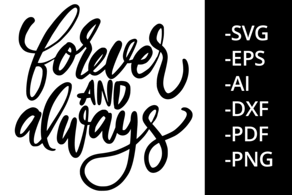 Print on Demand: Forever and Always Graphic Crafts By Ijem RockArt