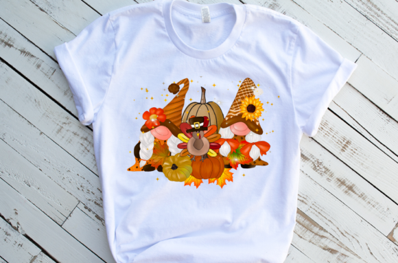 Gnomes Thanksgiving Design Sublimation Graphic Download