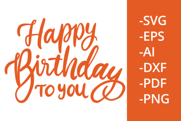 Print on Demand: Happy Birthday to You Graphic Crafts By Ijem RockArt