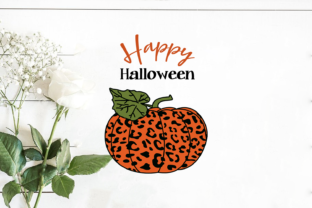 Happy Halloween Pumpkin Graphic Print Templates By Silhouette Market