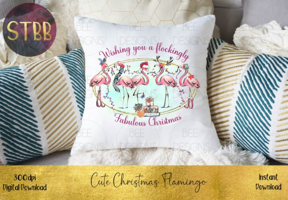 Have a Flockingly Fabulous Christmas Graphic Download