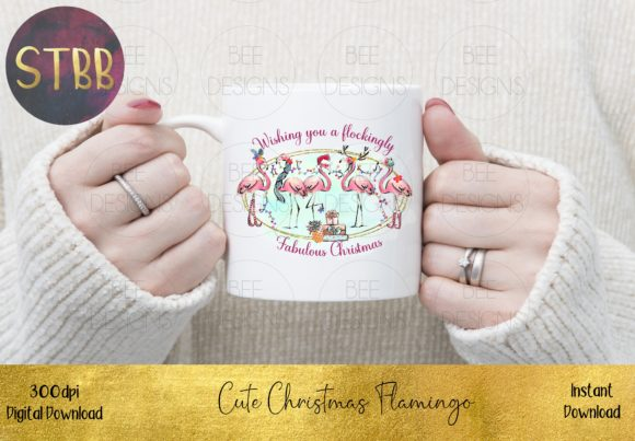 Have a Flockingly Fabulous Christmas Graphic Item