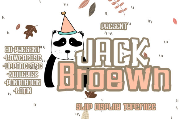 Print on Demand: Jack Broewn Display Font By edwar.sp111