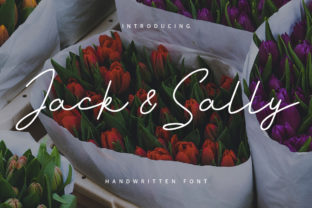 Print on Demand: Jack and Sally Script & Handwritten Font By Maulana Creative