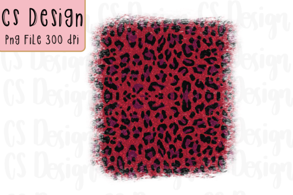 Print on Demand: Leopard Sublimation Background Clipart Graphic Crafts By CSDesign